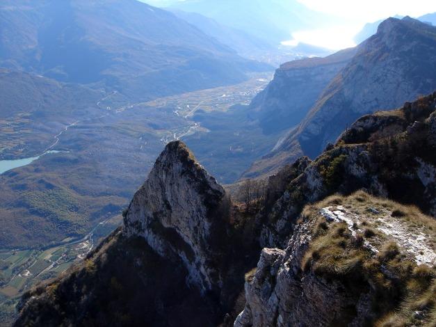 Foto: Manfred Karl / Klettersteig Tour / Via ferrata Ernesto Che Guevara / Ausstiegsgelände des Klettersteiges / 28.10.2008 11:16:18