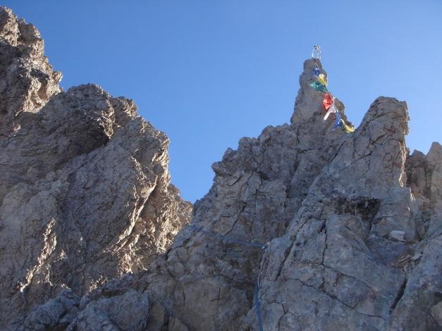 Foto: Manfred Karl / Klettersteig Tour / Madonnen - Klettersteig / Bald folgt eine etwas schärfere Klettersteigstelle / 28.10.2008 19:00:43