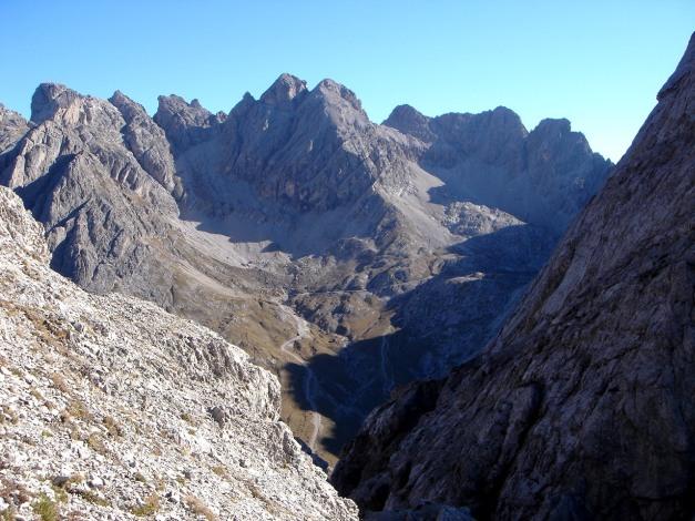 Foto: Manfred Karl / Klettersteig Tour / Madonnen - Klettersteig / Laserzkessel / 28.10.2008 18:57:13