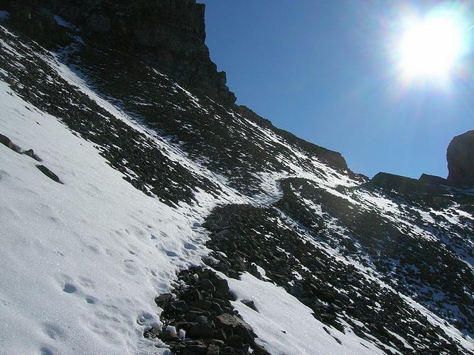Foto: kleopatra / Wander Tour / Rossstock / Beim Abstieg vor bei am Fuss des Fulen (weitere Gipfelmöglichkeit) / 29.10.2008 09:35:41