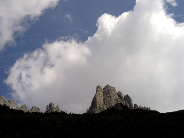 Foto: Manfred Karl / Klettersteig Tour / Grandlspitz – Taghaube – Überschreitung / Grandlspitz / 31.10.2008 08:01:49