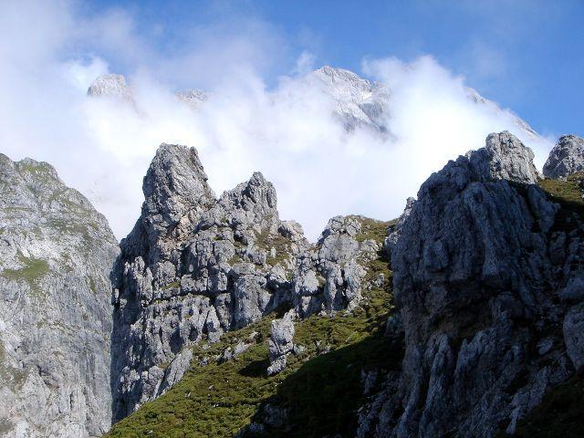 Foto: Manfred Karl / Klettersteig Tour / Grandlspitz – Taghaube – Überschreitung / Hochkönig / 31.10.2008 07:50:09