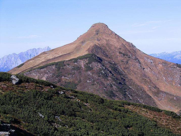 Foto: Andreas Koller / Wander Tour / Kammwanderung zum Schreinl (2154m) / Im N Schoberspitze (2126 m) und Grimming (2351 m) / 04.11.2008 11:11:08