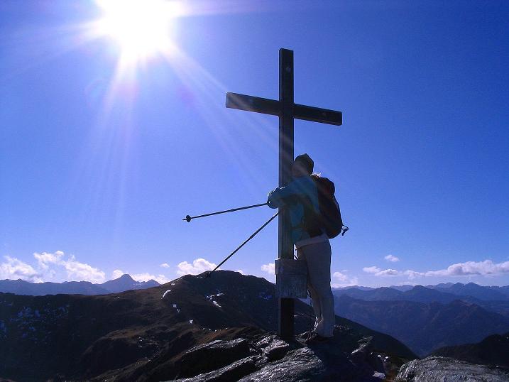 Foto: Andreas Koller / Wander Tour / Kammwanderung zum Schreinl (2154m) / Auf der Karlspitze / 04.11.2008 11:10:04