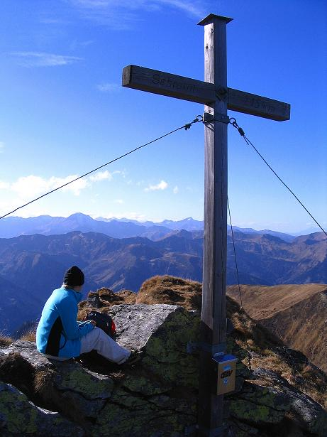 Foto: Andreas Koller / Wander Tour / Kammwanderung zum Schreinl (2154m) / Blick vom Schreinl in die Schladminger Tauern / 04.11.2008 11:06:15