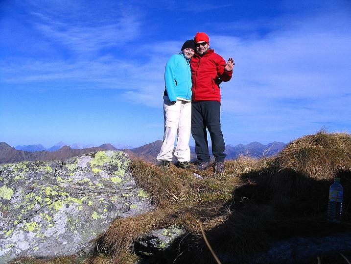 Foto: Andreas Koller / Wander Tour / Kammwanderung zum Schreinl (2154m) / Am Schreinl-Gipfel / 04.11.2008 11:04:02