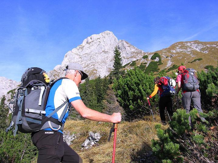 Foto: Andreas Koller / Wander Tour / Admonter Reichenstein (2251m) / Aufstieg über schrofige Hänge zum Reichenstein / 04.11.2008 21:23:52