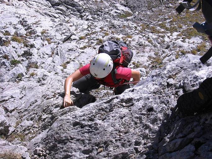Foto: Andreas Koller / Wander Tour / Admonter Reichenstein (2251m) / Kletterei (II) / 04.11.2008 21:14:33