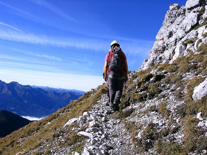 Foto: Andreas Koller / Wander Tour / Admonter Reichenstein (2251m) / Querung unterhalb der S-Wand / 04.11.2008 21:13:07