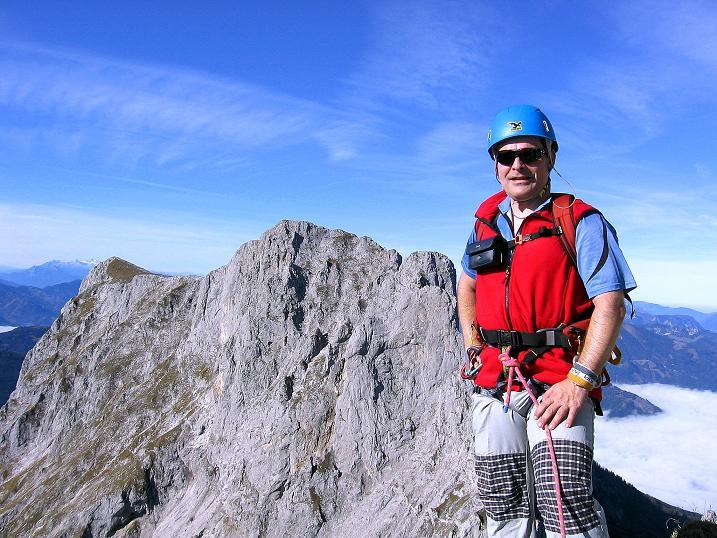 Foto: Andreas Koller / Wander Tour / Admonter Reichenstein (2251m) / Ausstieg aus der Rampe / 04.11.2008 21:12:13