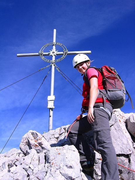 Foto: Andreas Koller / Wander Tour / Admonter Reichenstein (2251m) / Reichenstein-Gipfelkreuz / 04.11.2008 21:09:28