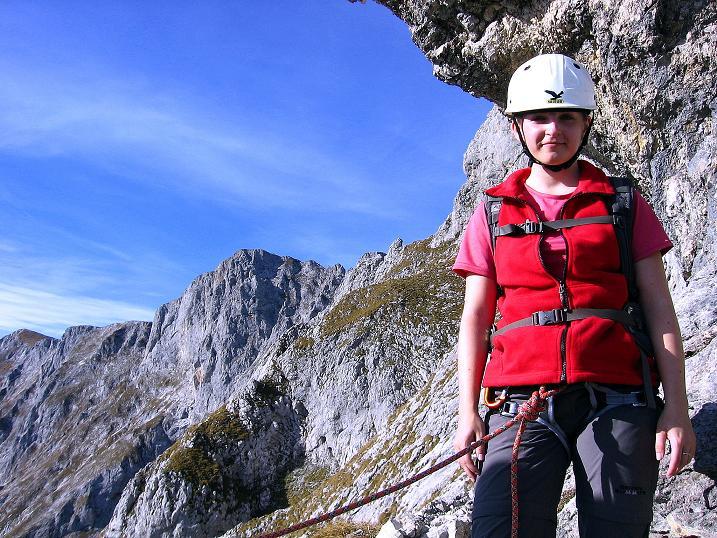 Foto: Andreas Koller / Wander Tour / Admonter Reichenstein (2251m) / Nach der Hertzmann-Kupfer Platte / 04.11.2008 20:57:48