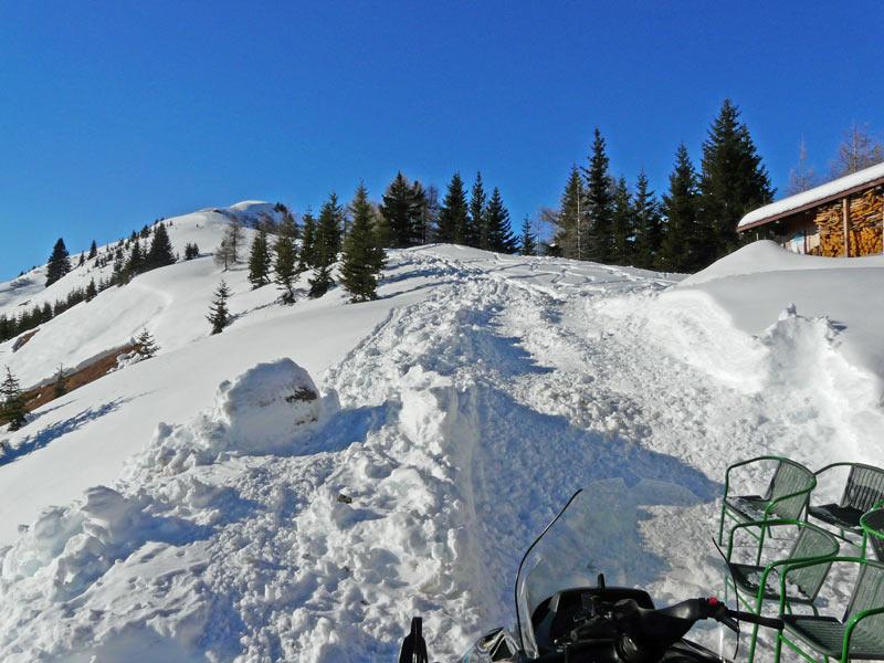 Foto: vince 51 / Schneeschuh Tour / Von Elbigenalp auf die Mutte (2187m) / Weiterweg vom Bernhardseck Richtung Mutte / 29.12.2008 22:12:29