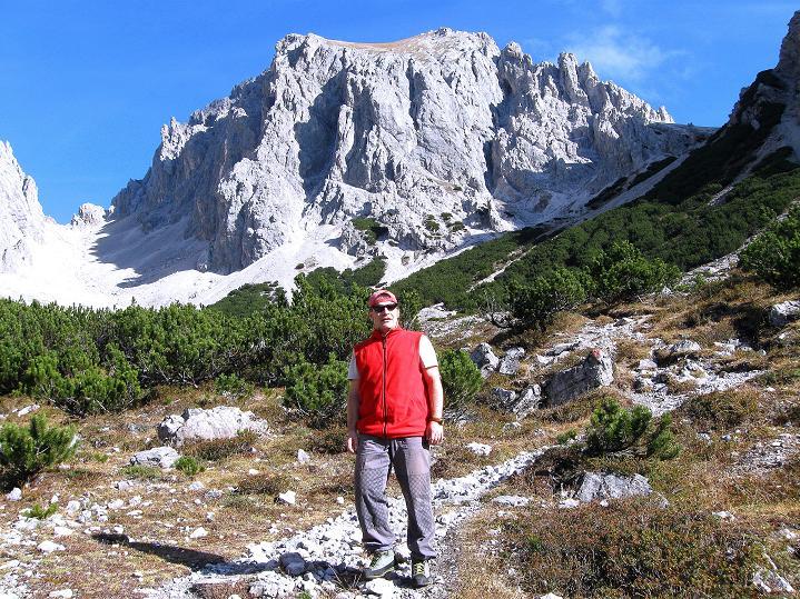 Foto: Andreas Koller / Klettersteig Tour / Klettersteig auf die Wankspitze (2219m) / In der Hölle mit Griesspitzen (2741 m) / 12.11.2008 01:12:20