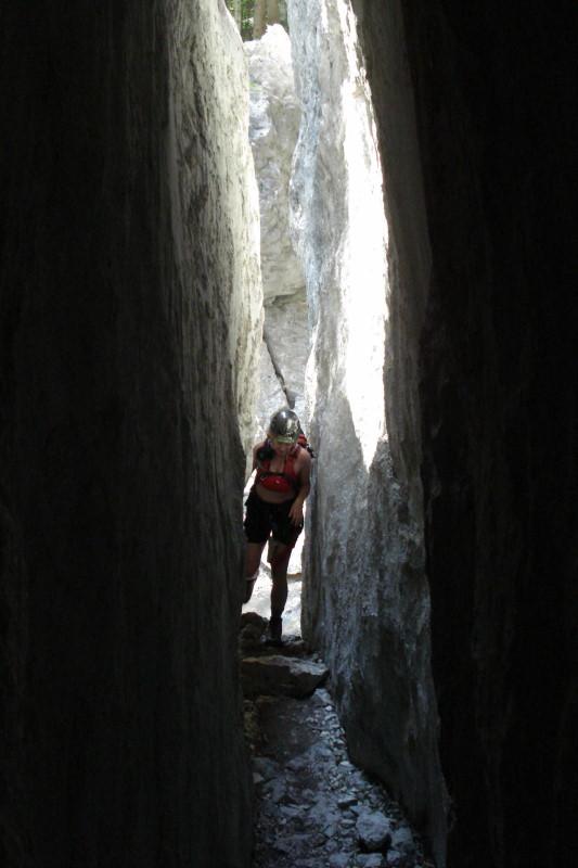Foto: Günter Siegl / Klettersteig Tour / Mein Land – Dein Land Klettersteig / Spektakulärer Auftakt! / 06.06.2011 09:05:19