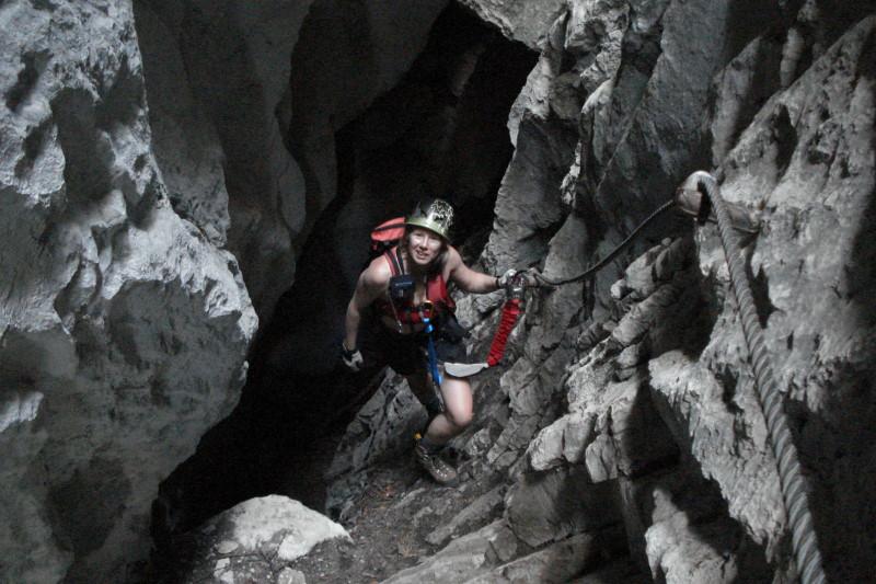 Foto: Günter Siegl / Klettersteig Tour / Mein Land – Dein Land Klettersteig / Grandioser Wegverlauf!!! / 06.06.2011 09:06:03