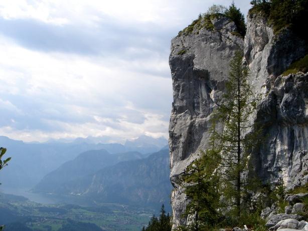 Foto: Manfred Karl / Klettersteig Tour / Mein Land – Dein Land Klettersteig / Predigstuhl Gipfelwand / 13.11.2008 21:33:16