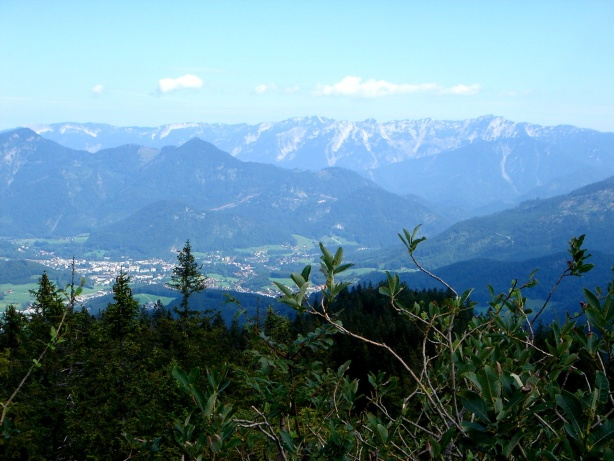 Foto: Manfred Karl / Klettersteig Tour / Mein Land – Dein Land Klettersteig / Höllengebirge vom Predigstuhl aus gesehen / 13.11.2008 21:32:13