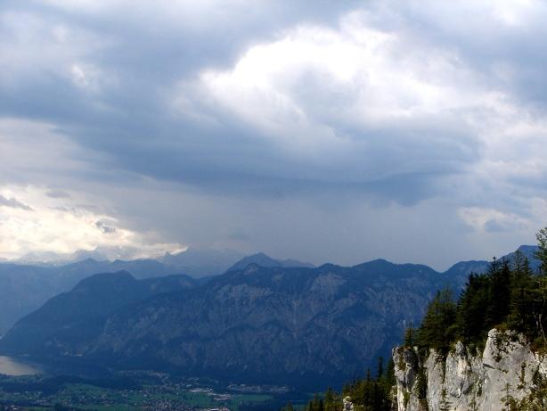 Foto: Manfred Karl / Klettersteig Tour / Mein Land – Dein Land Klettersteig / Gewitter über dem Dachsteinmassiv / 13.11.2008 21:31:48