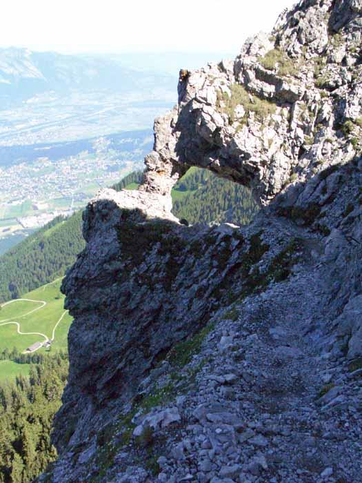 Foto: vince 51 / Wander Tour / Auf die Drei Schwestern / Felsentor / 14.11.2008 21:59:35