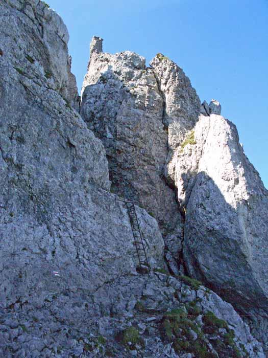 Foto: vince 51 / Wander Tour / Auf die Drei Schwestern / Die untere von 2 Leitern / 14.11.2008 21:58:29