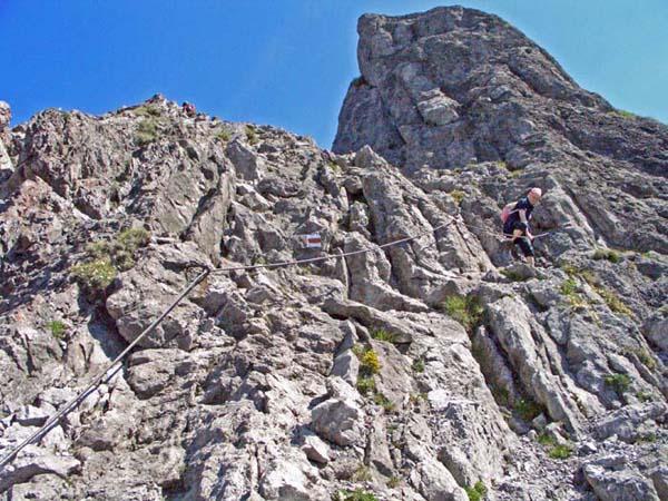 Foto: vince 51 / Wander Tour / Auf die Drei Schwestern / Abstieg nach Süden von der grossen Schwester / 14.11.2008 21:51:13