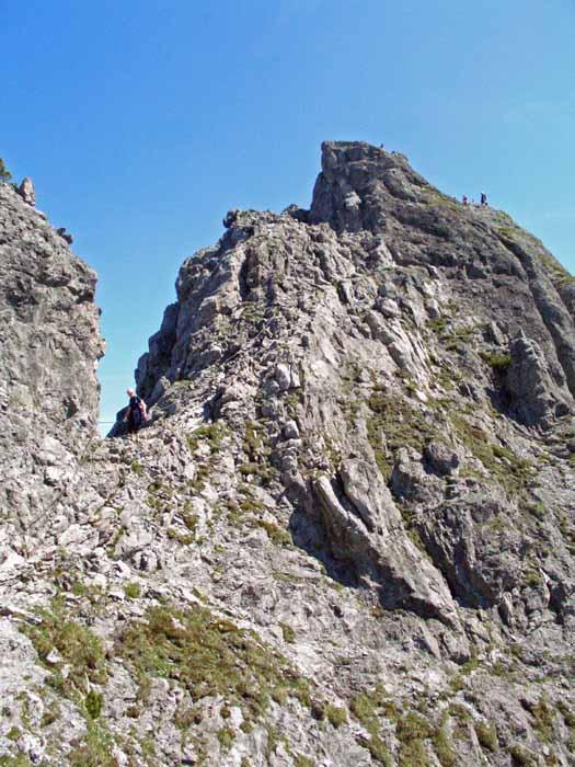 Foto: vince 51 / Wander Tour / Auf die Drei Schwestern / Abstieg nach Süden von der grossen Schwester / 14.11.2008 21:50:37