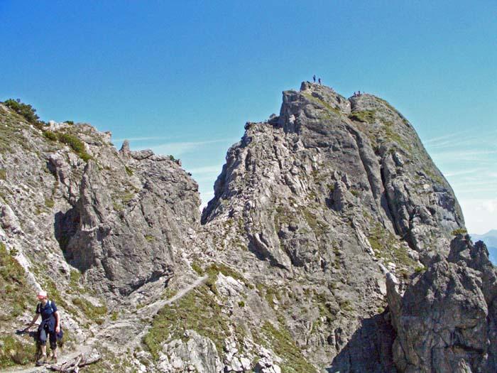 Foto: vince 51 / Wander Tour / Auf die Drei Schwestern / Abstieg nach Süden von der grossen Schwester / 14.11.2008 21:49:54