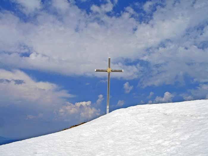 Foto: vince 51 / Schneeschuh Tour / Mit Schneeschuhen auf den Hohen Freschen / Am Ziel / 20.11.2008 22:28:56