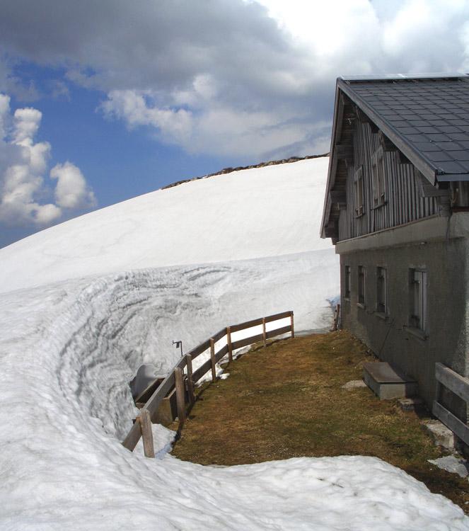 Foto: vince 51 / Schneeschuh Tour / Mit Schneeschuhen auf den Hohen Freschen / bei der Oberen Saluveralm / 20.11.2008 22:34:00