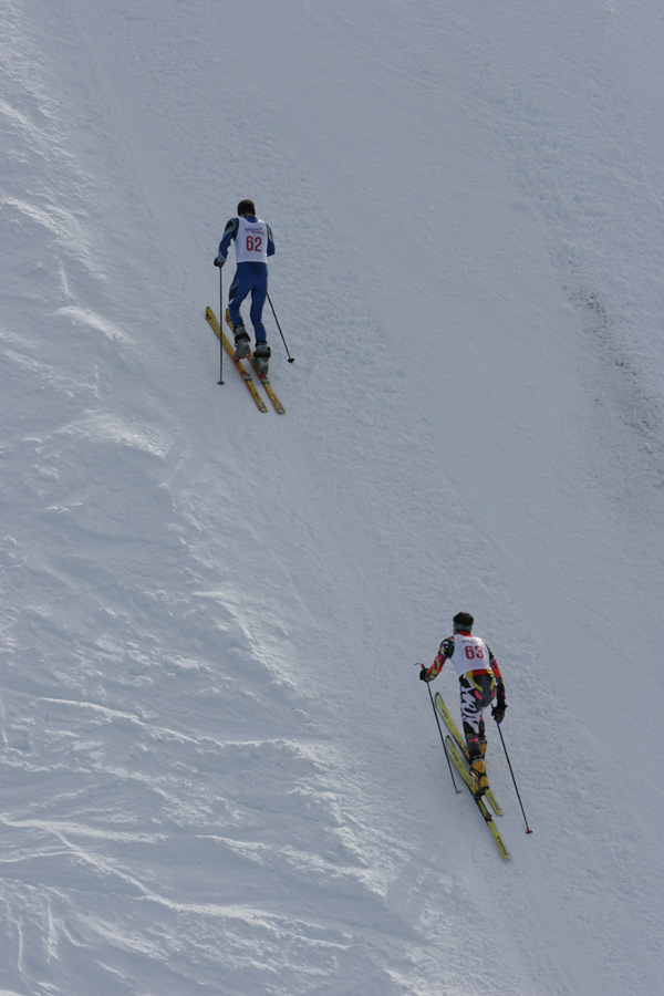 Foto: Romana Koeroesi / Ski Tour / CHAMP OR CRAMP 24.1.2009 / Aufstieg / 25.11.2008 09:22:22