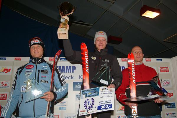 Foto: Romana Koeroesi / Ski Tour / CHAMP OR CRAMP 24.1.2009 / Sieger Elite 1 Ringhofer  2 Wallner Wieland / 20.11.2008 11:49:49