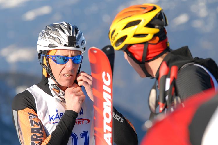 Foto: Romana Koeroesi / Ski Tour / CHAMP OR CRAMP 24.1.2009 / Startvorbereitungen / 25.11.2008 09:23:27