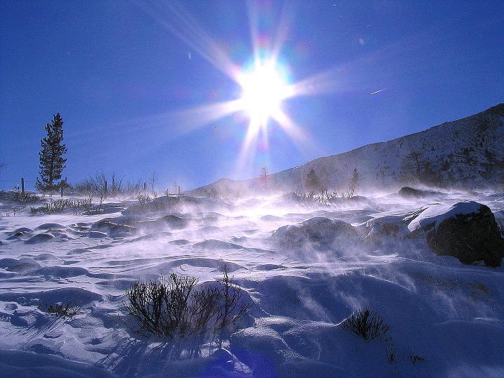 Foto: Andreas Koller / Ski Tour / Vom Falkertsee auf den Falkert (2308m) / Sonne und Wind am Falkertsee / 24.11.2008 23:06:50