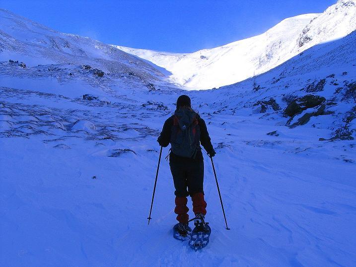 Foto: Andreas Koller / Ski Tour / Vom Falkertsee auf den Falkert (2308m) / Richtung Falkertscharte / 24.11.2008 23:05:07
