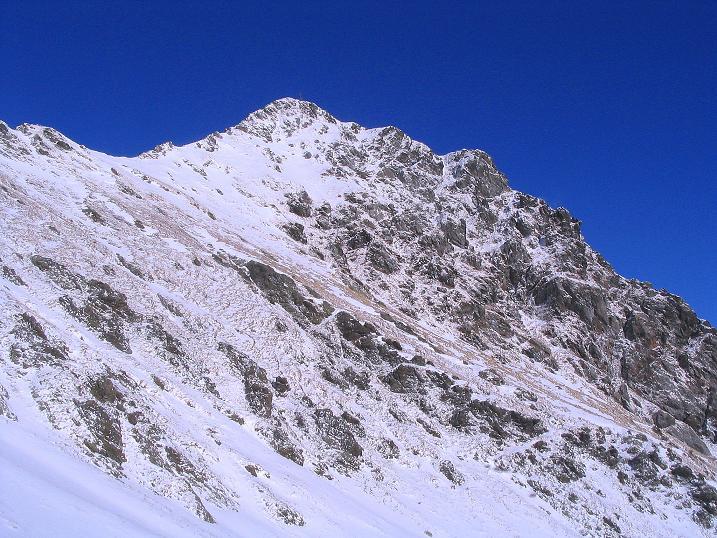 Foto: Andreas Koller / Ski Tour / Vom Falkertsee auf den Falkert (2308m) / Die Falkertspitze  / 24.11.2008 23:04:48