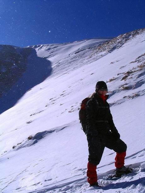 Foto: Andreas Koller / Ski Tour / Vom Falkertsee auf den Falkert (2308m) / Unterhalb der Falkertscharte / 24.11.2008 23:04:30