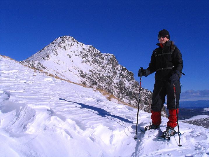 Foto: Andreas Koller / Ski Tour / Vom Falkertsee auf den Falkert (2308m) / In der Falkertscharte mit Falkertspitze / 24.11.2008 23:02:43
