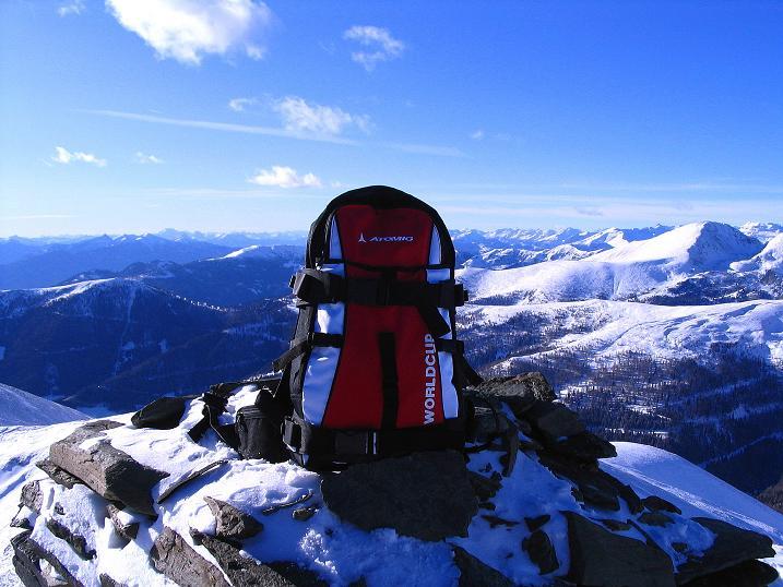 Foto: Andreas Koller / Ski Tour / Vom Falkertsee auf den Falkert (2308m) / Blick nach SW / 24.11.2008 22:59:12
