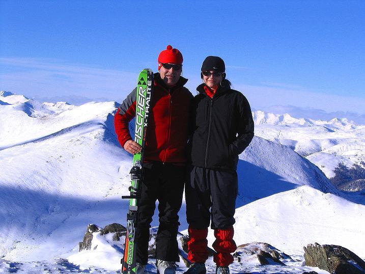 Foto: Andreas Koller / Ski Tour / Vom Falkertsee auf den Falkert (2308m) / In den Kärntner Nockbergen / 24.11.2008 22:58:55