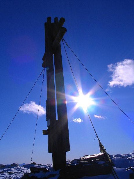 Foto: Andreas Koller / Ski Tour / Vom Falkertsee auf den Falkert (2308m) / Strahlender Sonnenschein am Falkert / 24.11.2008 22:57:11