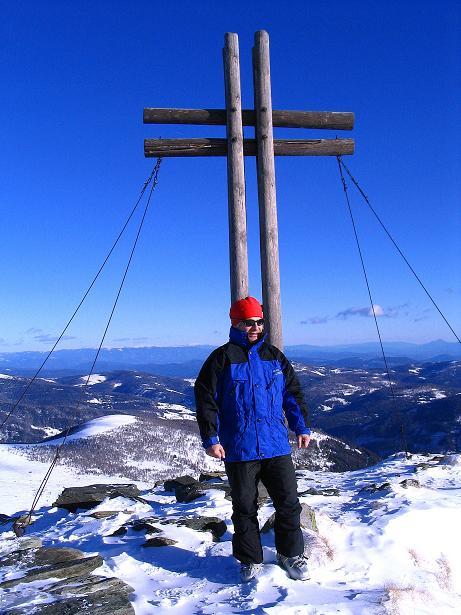 Foto: Andreas Koller / Ski Tour / Vom Falkertsee auf den Falkert (2308m) / Abschied vom Falkert-Gipfel / 24.11.2008 22:54:48