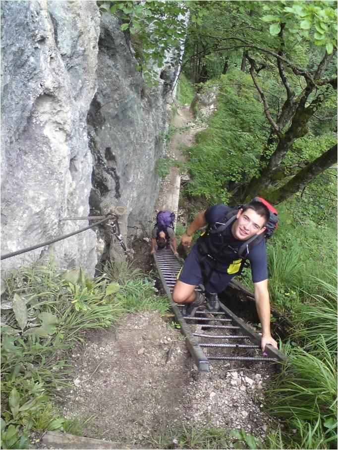 Foto: gumpiand / Klettersteig Tour / Drachenwand (1060 m) über