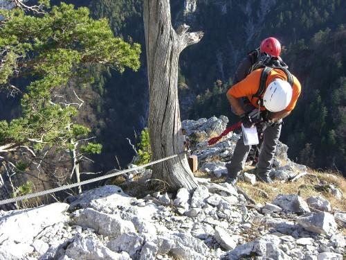 Foto: hofchri / Klettersteig Tour / Drachenwand (1060 m) über