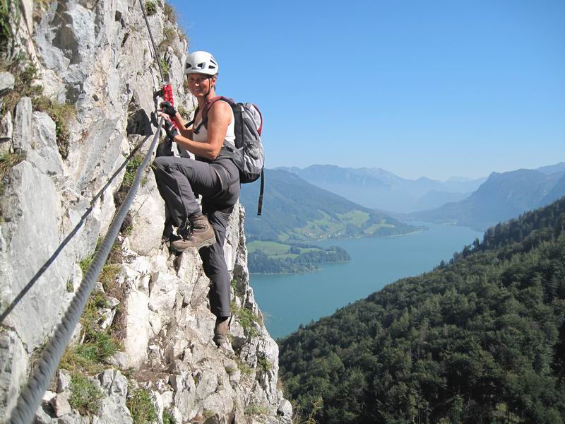 Foto: Heidi Schützinger / Klettersteig Tour / Drachenwand (1060 m) über