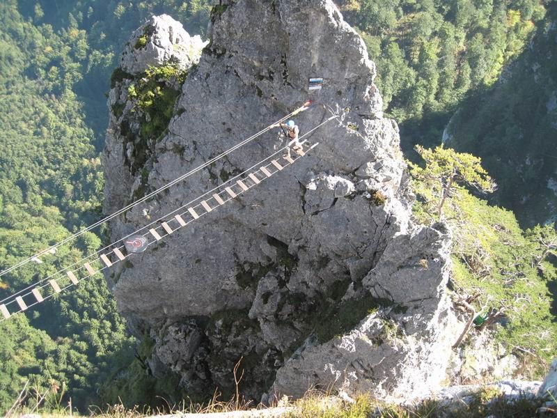 Klettersteig Oberösterreich : Alpintouren.com klettersteig tour drachenwand 1060 m über