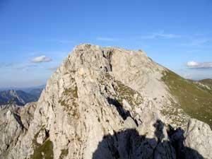Foto: Datzi / Wander Tour / Rundtour von der Winterhöh ( Wildalpen) mit Anstieg zur Schaufelwand und Brandstein ( Biwak ) u.Abstieg über dem Teufelssee / Blick zum Gr. Griesstein / 06.12.2008 15:06:51
