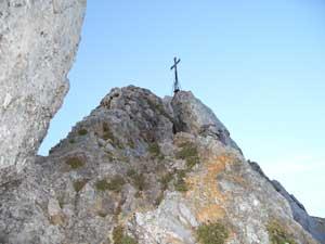 Foto: Datzi / Wander Tour / Rundtour von der Winterhöh ( Wildalpen) mit Anstieg zur Schaufelwand und Brandstein ( Biwak ) u.Abstieg über dem Teufelssee / Aufstieg Schaufelwand ( der Weg zum Gipfel ist sehr ausgesetzt, keine Sicherung möglich- Schwierigkeit II ) / 06.12.2008 15:07:28