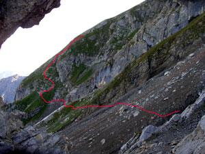 Foto: Datzi / Wander Tour / Rundtour im Gr. Walsertal auf die Rote Wand ( Biwak ) / 06.12.2008 18:38:01
