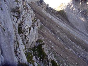 Foto: Datzi / Wander Tour / Rundtour im Gr. Walsertal auf die Rote Wand ( Biwak ) / Einstieg zur Rotenwand mit Übergang zur Scharte u. Abstieg zum Formarinesee / 06.12.2008 18:38:08
